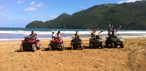 EX #3 Waterfalls, Beach & Culture on ATV-Quad